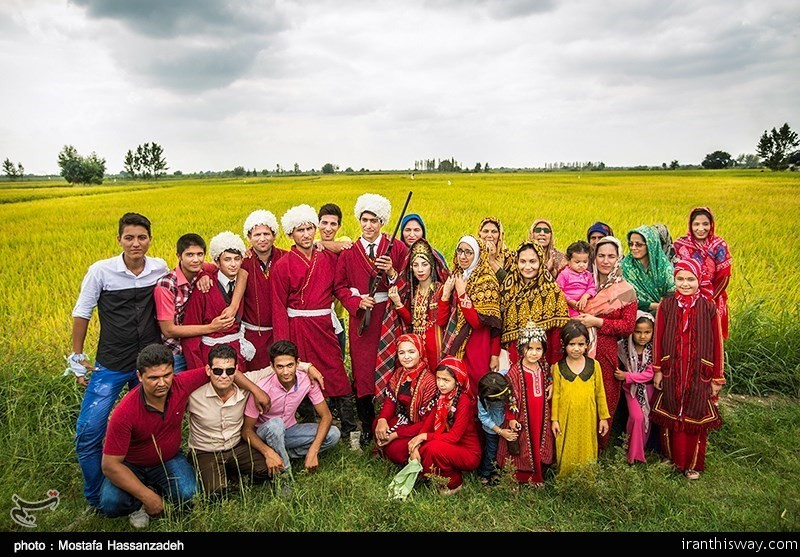 Turkmen people in Bandar Torkaman, a city in Golestan province, 400km (249 Miles) north of the Iranian capital of Tehran, celebrate their weddings based on their centuries-old customs and traditions.