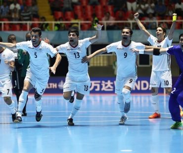 Iran futsal team stands on 3rd place of  World Cup 2016 + photo-video