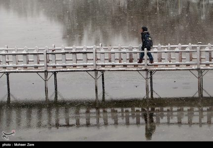 Snow Fall in Ardabil-Photo