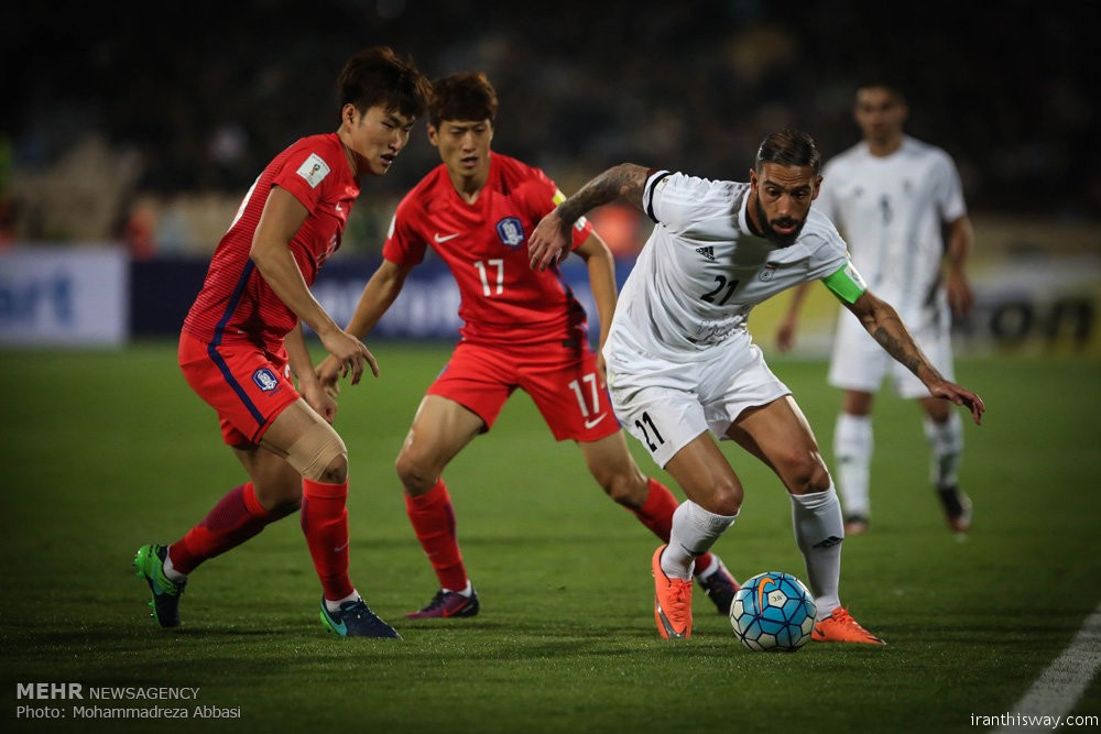 Iran remains Asia's top-ranked team in FIFA rancking