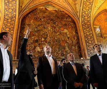 Bosnian president visits historical city of Isfahan-Photo
