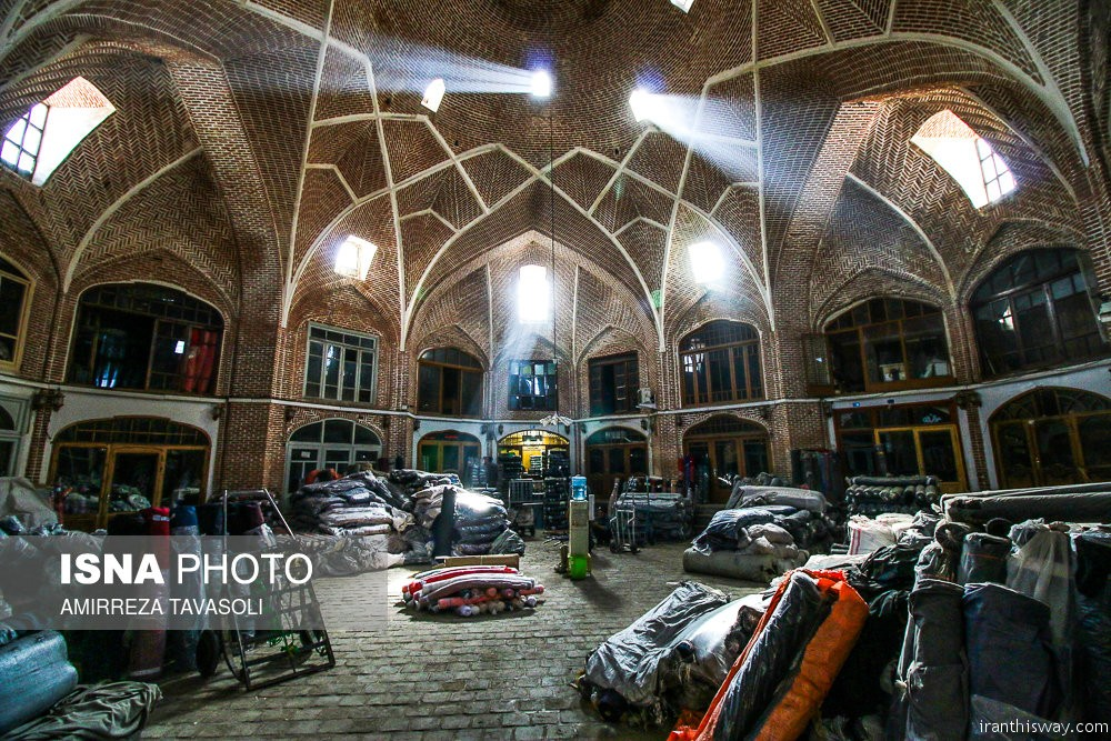 Tabriz Historic Bazaar +Photo