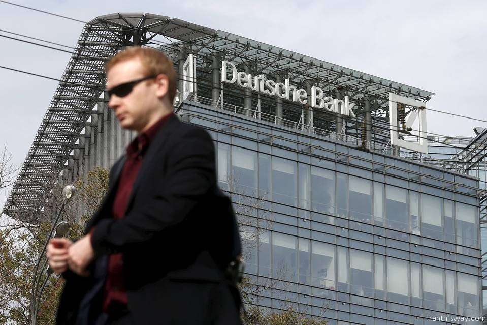 Iran & Deutsche Bank resume oil partnership