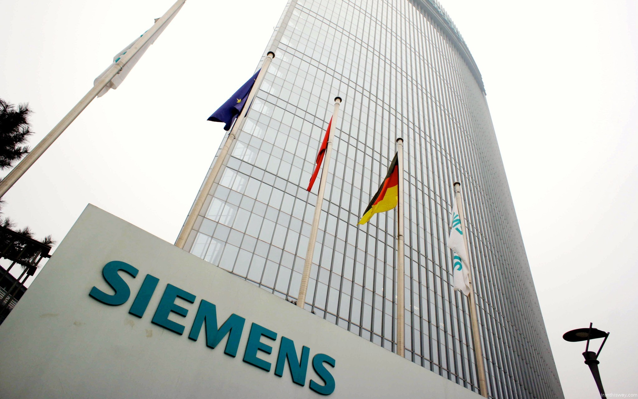 €3 billion credit line by Siemens on the way to Iran