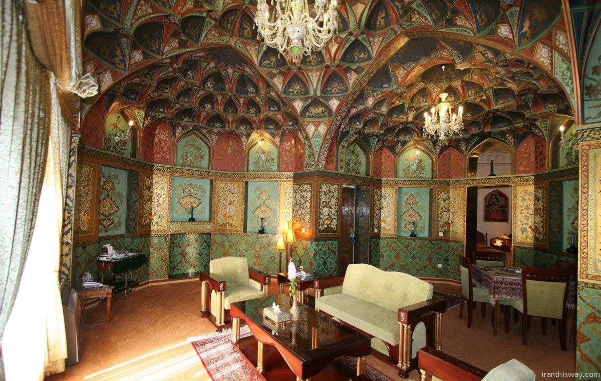 The Abbasi's main building was once the caravanserai of the Madraseh-ye Chahar Bagh, and it has atmosphere in spades.