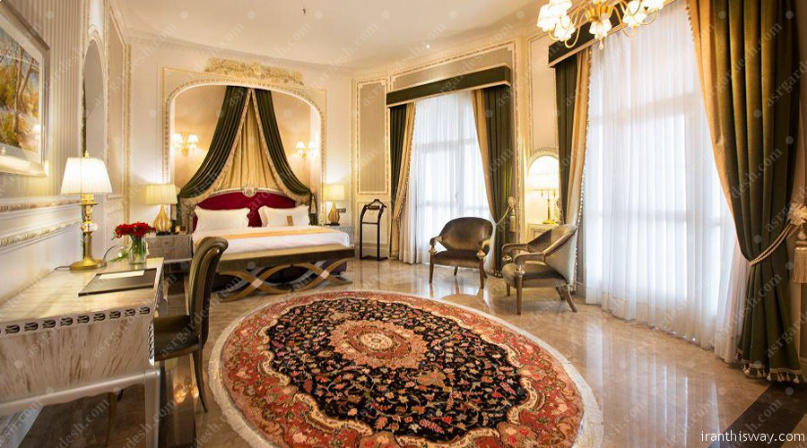 Espinas Palace Hotel is a grand family residence situated in the northwest of Tehran.