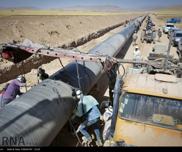 Iran gas pipeline to Iraq /Photo