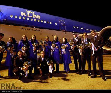 KLM resumed flights to IRAN+photo