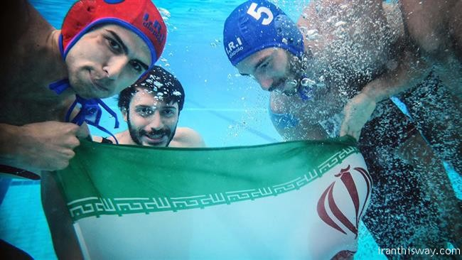 Iran waterpolo