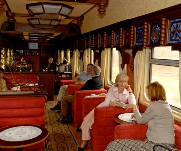 """Golden Eagle"" luxurious train leaved Moscow to Tehran"