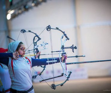 Iranian archer girl win historic first World Cup gold medal +Photo