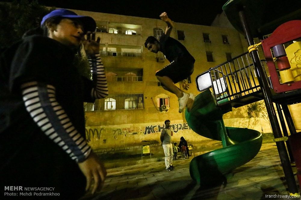 Parkour life of Iranian boys and girls+photo+video