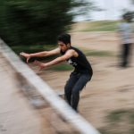 Parkour life of Iranian boys and girls