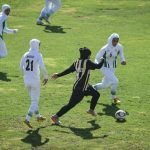Iranian girls football match in Shiraz