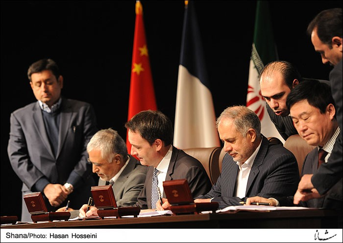Iran, Total-led consortium sign $4.8 billion energy deal +Photo