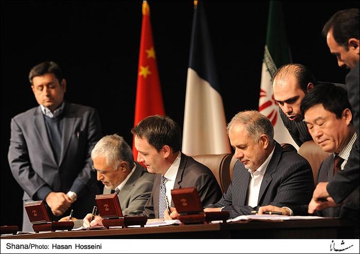 Iran, Total-led consortium sign $4.8 billion energy deal +Photo