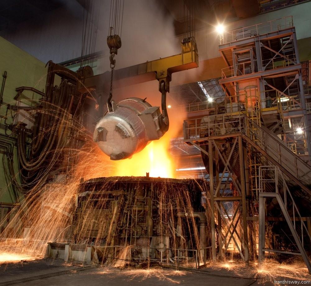 Iran crude steel