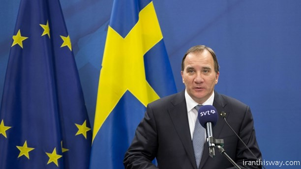 Löfven Swedish PM visit Iran in February
