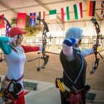 Iranian archers clinched a gold and two silvers at the Indoor Archery World Cup — Stage 1 in Morocco.