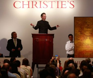 Iran sells 39 artworks in Christie's