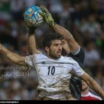 Syrian footballers held Iranian Cheetahs to a scoreless draw at FIFA World Cup Russia 2018 qualifier in a swampy Malaysian stadium on Tuesday.