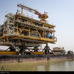 Platform 20 of South Pars oil field on its way to be launched+Photo