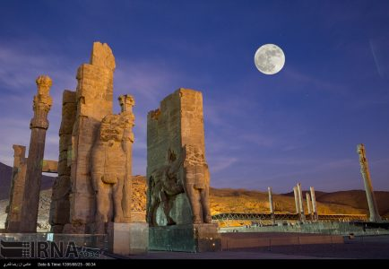 Photo: Persepolis Supermoon