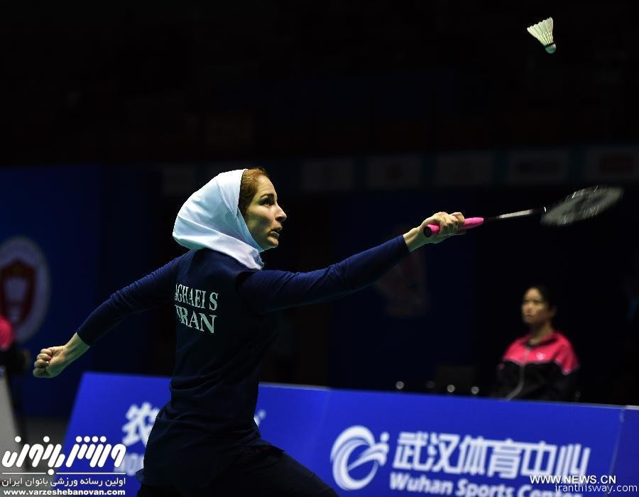 Iran's Soraya Aqaei Hajiaqa snatched bronze at the Nepal International Badminton Series 2016.