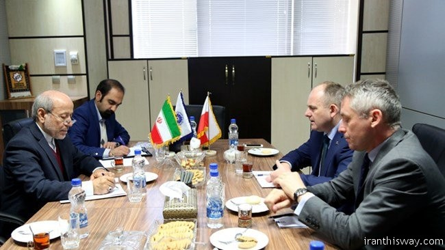 Polish Foreign Investment Agency lunch office in Tehran