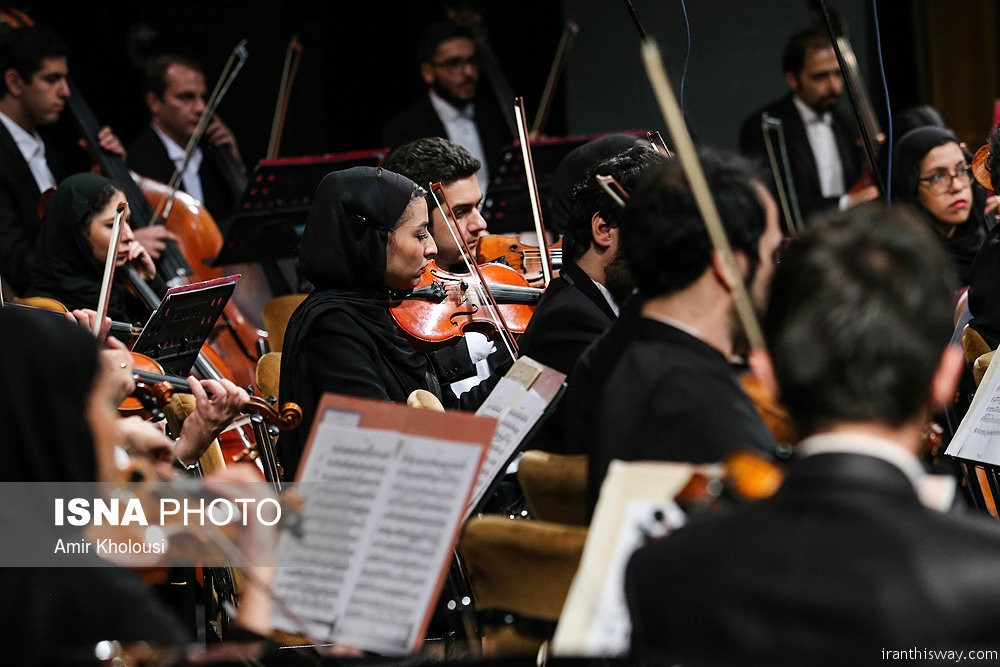 Photo: Tehran's Symphony Orchestra performs+Video