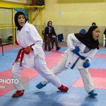 Photo: Iranian women Karate super league started