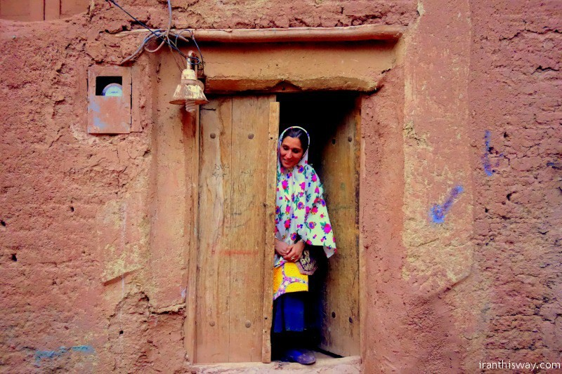 People of Abyaneh Village