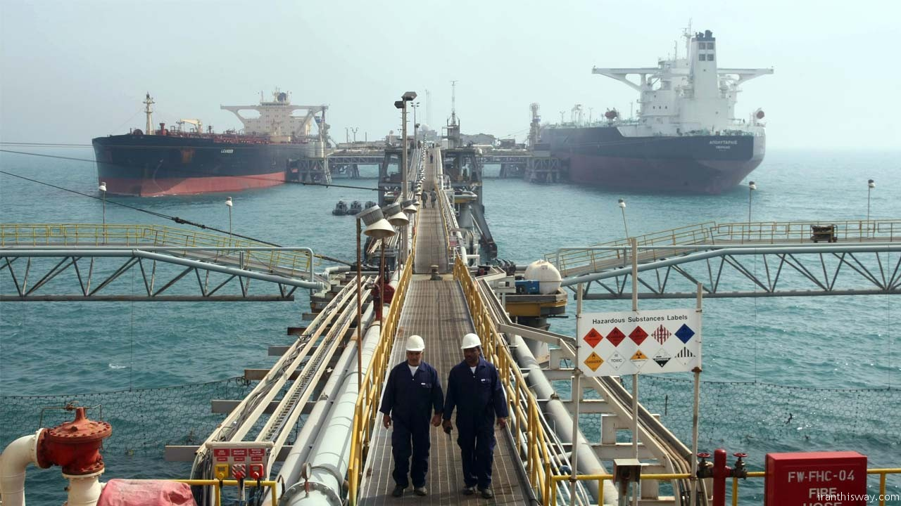 Iran oil sales hit 2.8mn bpd