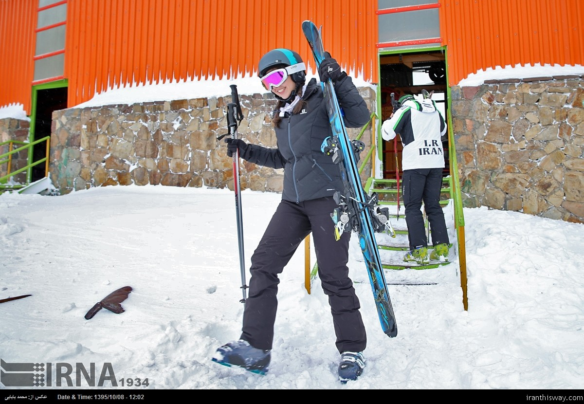 Photo: The new season of skiing in Dizin resort