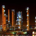 Iran Oil refinery plant