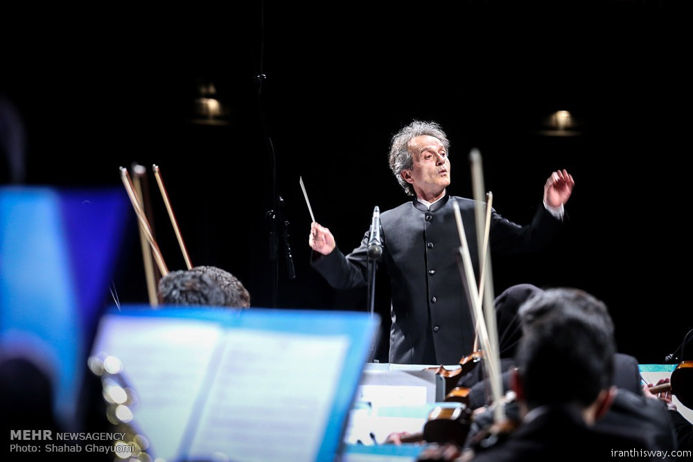 Photo: First performance of 'Land of Heroes' symphony in Tehran
