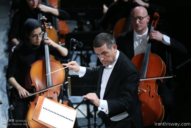 The 7th night of 32nd Fajr Music Festival was devoted to joint performance of Tehran Symphony Orchestra and the Puccini Festival Orchestra from Italy, under the baton of maestros Shahrdad Rohani and Paolo Olmi.