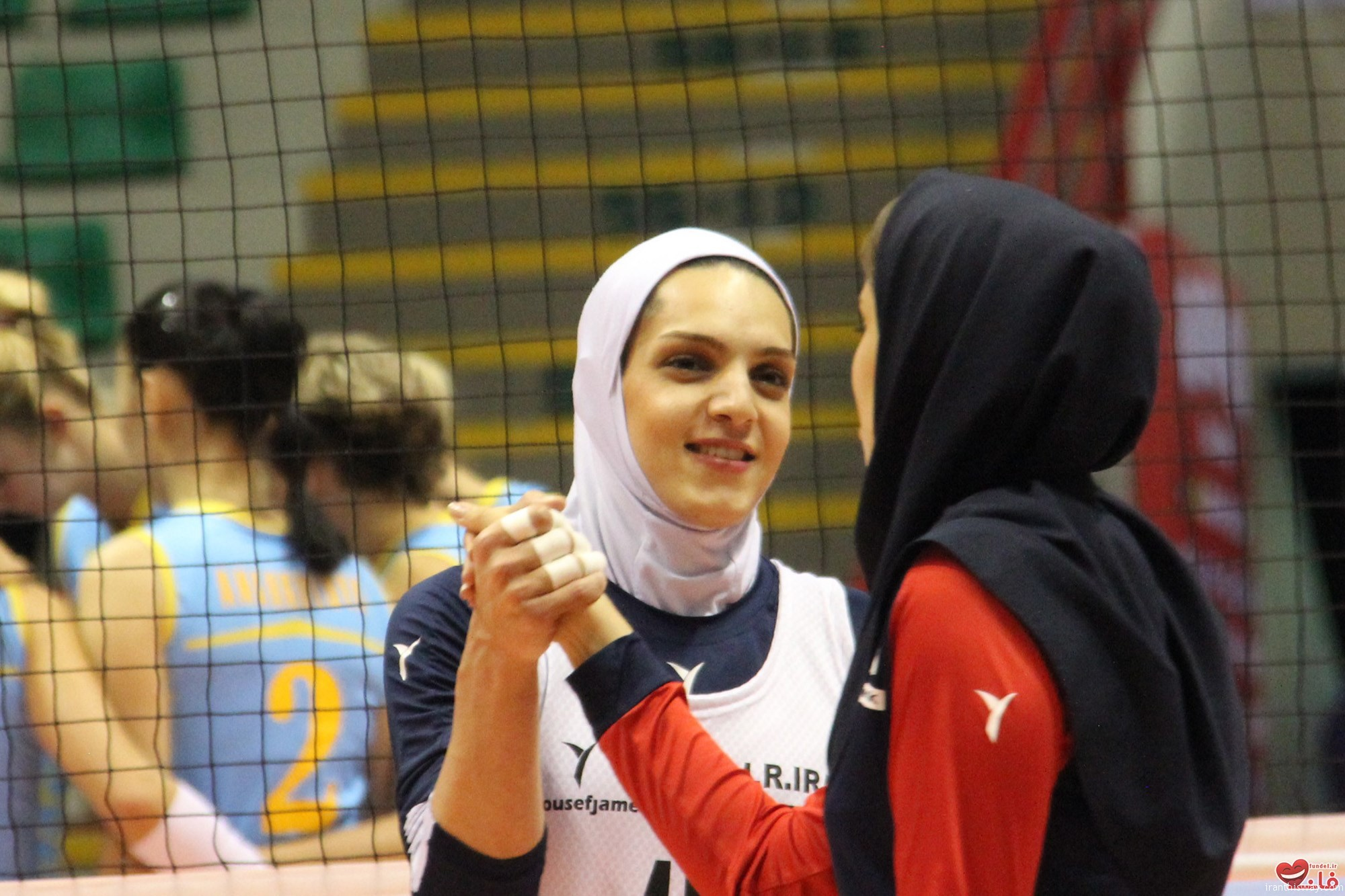 The first Iranian girls Joined Bulgarian volleyball club