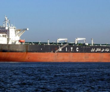 Iran oil tanker in Europe first time after JCPOA