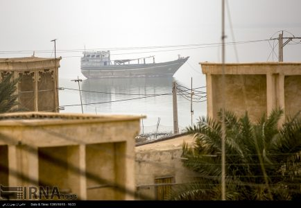 Photo: Laft port of Qeshm island