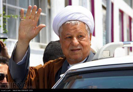 Ayatollah Hashemi Rafsanjani passed away