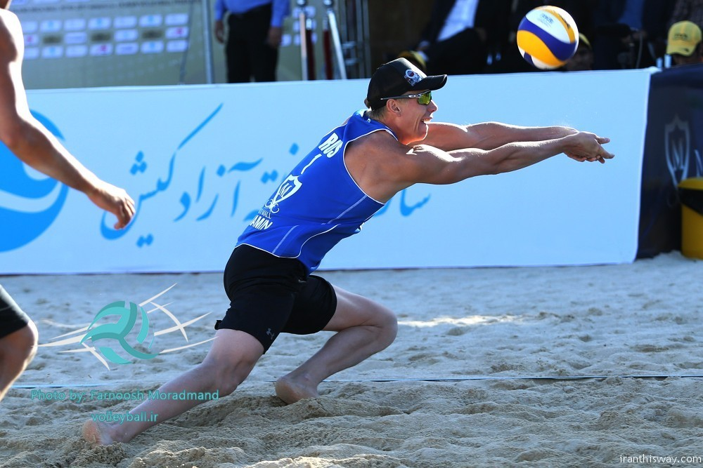 Photo: Kish FIVB Beach Volleyball World Tour