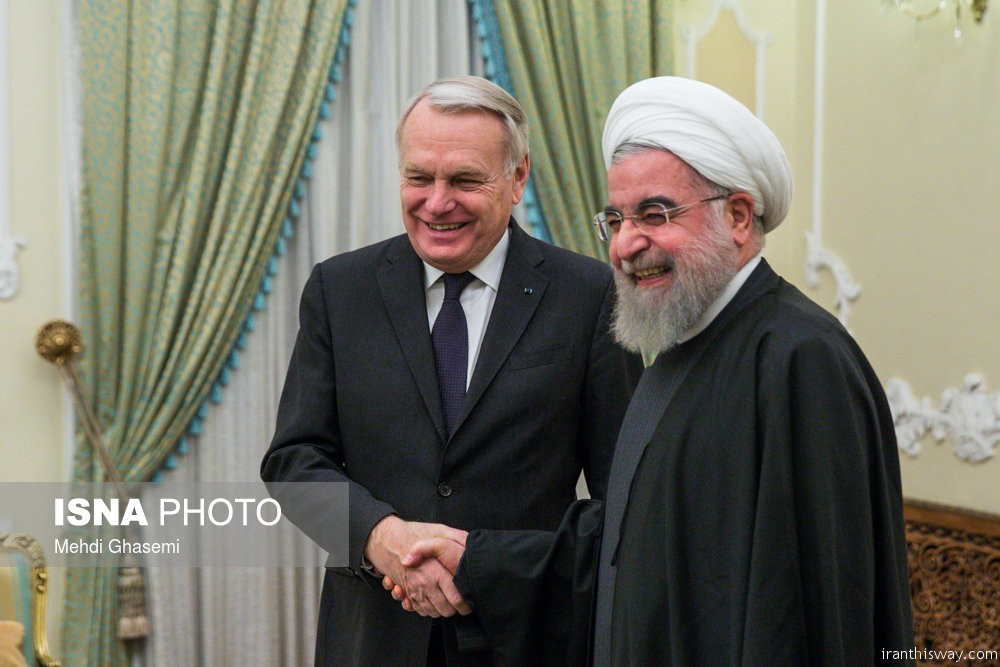 Photo: French FM in Tehran