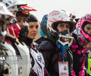 Photo: First Iranian girls motocross championships