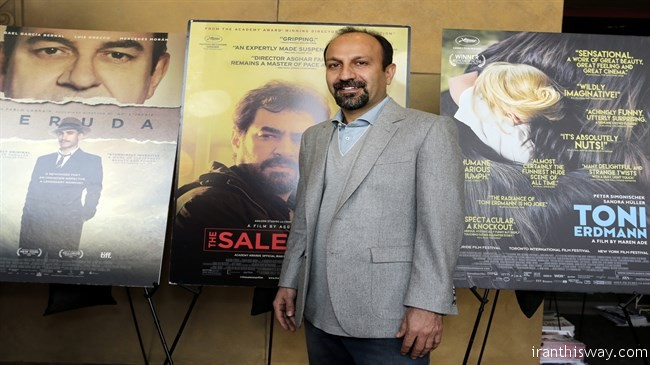 Asghar Farhadi, director of The Salesman