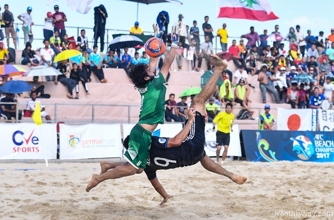 Iran was crowned AFC Beach Soccer Championship Malaysia 2017 champion on Saturday after beating the UAE 7-2 in Kuala Terengganu.