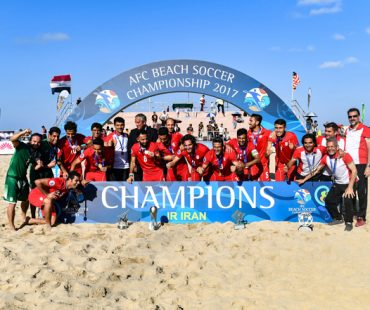 Photo: Iran crowned 2017 AFC beach soccer champion