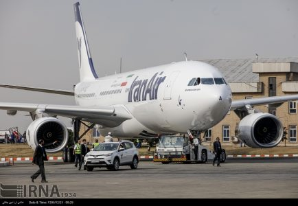 Second new Airbus touches down in Tehran