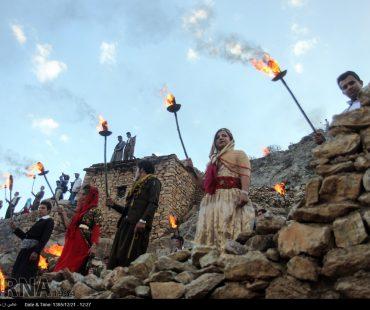 Photo: Palangan village traditionally welcomes spring