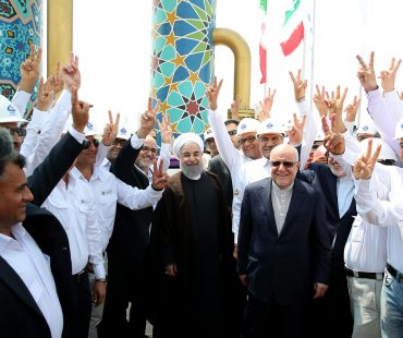 Iran inaugurates mega gas projects worth $20b+Photo
